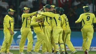 India vs Australia 5th ODI Match Report: Usman Khawaja Stars as Australia Beat India by 35 Runs to Clinch Series 3-2