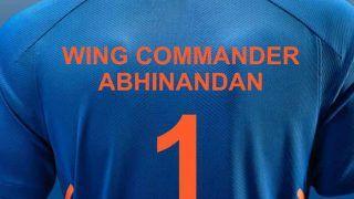 BCCI ने विंग कमांडर अभिनंदन के सम्मान में लॉन्च की टीम इंडिया की जर्सी, बताया नंबर वन