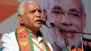 BS Yeddyurappa Says BJP Optimistic Good Performance in New Territories Will Push Party's Tally to 300 in LS Polls
