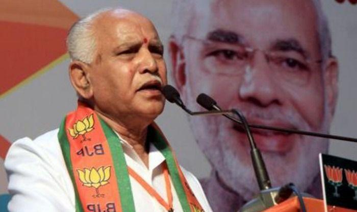 Karnataka unit president BS Yeddyurappa