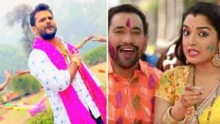 Bhojpuri Holi Songs 2019: From Khesari Lal Yadav's 'Kukura Chahet Dela' to Amrapali Dubey's 'Rajneeti Mein Rangail', Here's Top Songs For The Festival of Colours