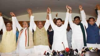 Bihar Grand Alliance Announces Formal Allocation of 31 of 40 Lok Sabha Seats