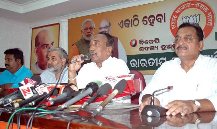 Bijoy Mohapatra Returns to BJP in Odisha Within 4 Months of Resigning