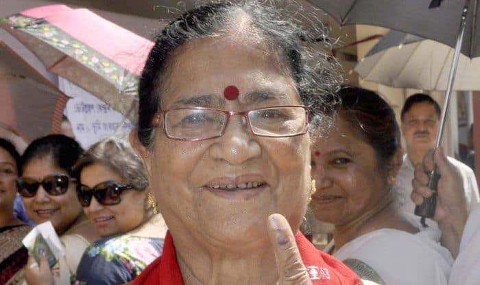 BJP's sitting MP Bijoya Chakravarty