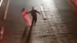 Love Test Gone Wrong! Chinese Man Tests His Wife Love by Standing in The Middle of Busy Road, Gets Hit by Van - Watch Viral Video