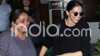 Chhapaak: Deepika Padukone Spotted With Filmmaker Meghna Gulzar Post a Script Reading Session, See Pictures