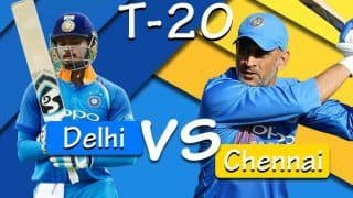 Latest Cricket Score And Updates IPL 2019 Delhi vs Chennai Match 5: Ishant Removes Rayudu in 148 Chase