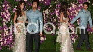 Akash Ambani-Shloka Mehta Wedding: Tiger Shroff Arrives at Gio Gardens With His Rumoured Girlfriend Disha Patani, See Pictures