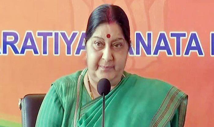 Sushma Swaraj Offers Help to Netizen Who Calls Her 'Not a Chowkidar' on Twitter