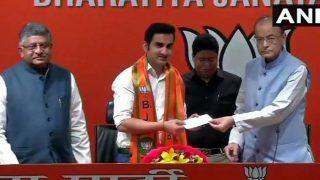 लोक सभा चुनाव 2019: गौतम गंभीर बीजेपी में हुए शामिल, दिल्ली से बन सकते हैं उम्मीदवार