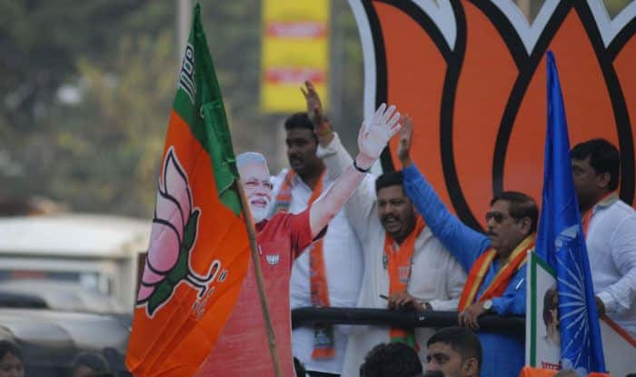 BJP candidate from Kasba Assembly constituency Girish Bapat