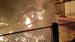 Himachal Pradesh: Seven Houses Gutted, 16 Families Affected After Fire Broke Out in Koti Village of Shimla; Fire Under Control