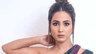 Hina Khan Looks Hot AF in Thigh-high Slit Gown as She Grabs Awards For Her Role 'Komolika' at ITA Awards 2019