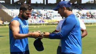 3rd ODI India vs Australia- Men in Blue Don Army Caps, Set to Dedicate Match Fee to Pulwama Martyrs | Watch