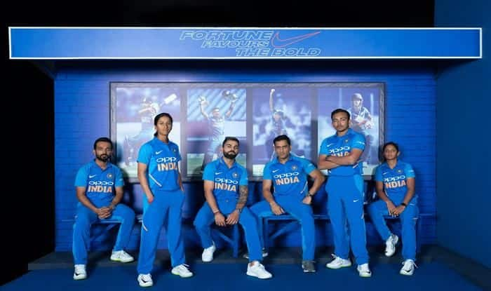 Indian men's and women's cricket team stars