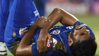 Bumrah Has 'Recovered Well' After Hurting Shoulder, Says MI Team Management