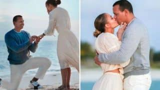 Alex Rodriguez Dreamy Proposal to Jennifer Lopez at The Beach Side During The Sunset is Nothing Less Than a Perfect Engagement