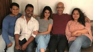 Jennifer Winget Looks Hot in Grey Tee And Blue Pants as She Gets Clicks With Her 'Team Winget'