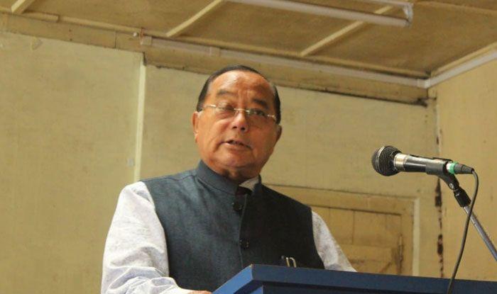 Congress leader KL Chishi