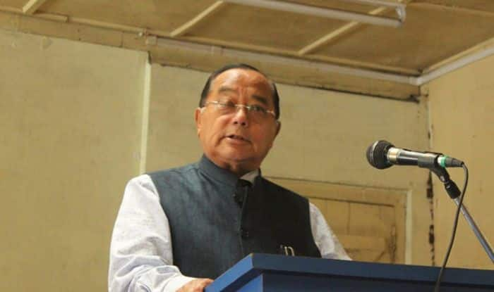 Former Nagaland Chief Minister KL Chishi