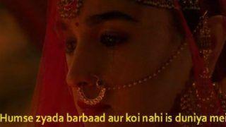 Kalank Teaser: Varun Dhawan, Alia Bhatt Starrer Film's Teaser Inspires Hilarious Meme Fest - Check Tweets