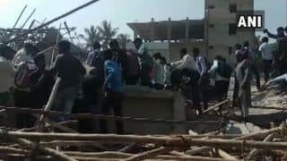 Karnataka: 2 Dead, 15 Injured, 40 Feared Trapped After Under-construction Building Collapses in Dharwad; Rescue Ops Underway