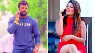 Bhojpuri Superstar Khesari Lal Yadav And Hottie Priyanka Singh's New Holi Song 'Kukura Chahet Dela' Becomes Top Trending Video on YouTube - Watch