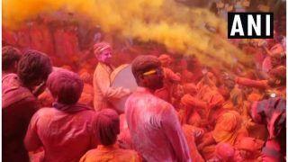 Laddu Holi 2021:  होली महाउत्सव की शुरुआत, आज बरसाने में लड्डू होली, जानें इतिहास