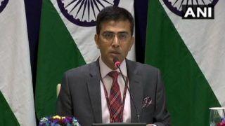 'Naya Pakistan' With 'Nayi Soch' Should Show 'Naya Action' Against Terrorist Groups, Cross-border Terrorism: India