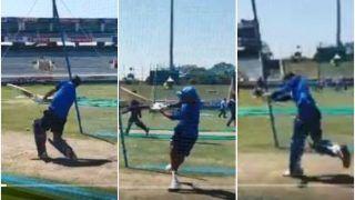 MS Dhoni, Rohit Sharma, Ravindra Jadeja And Vijay Shankar Take on Six-Hitting Challenge Ahead of 3rd ODI Versus Australia   WATCH VIDEO