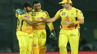 Highlights, IPL 2019 Match 12: Dhoni, Bowlers Shine as Chennai Edge Rajasthan by 8 Runs to Maintain Unbeaten Run