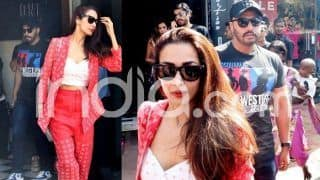 Malaika Arora And Boyfriend Arjun Kapoor Spotted Outside Restaurant in Mumbai in Stylish Yet Comfy Look, See Pictures