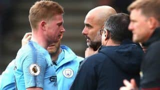 Premier League 2018-19: Kevin De Bruyne Set to be Out For a While After Injury Says Manchester City Coach Pep Guardiola