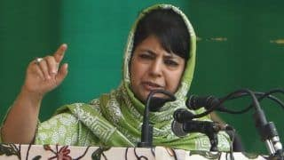 Pak's Nuclear Arsenal is Not For Eid Either: Mehbooba Mufti Fires at PM