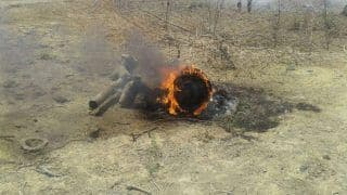 IAF's MiG 27 UPG Crashes in Gondana Near Rajasthan's Sirohi