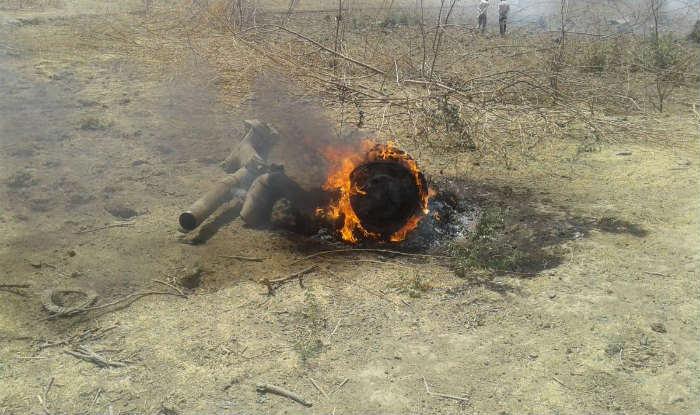 IAF's MiG 27 UPG Crashes in Gondana Near Rajasthan's Sirohi