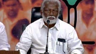 Lok Sabha Elections 2019: Kummanam Rajasekharan Resigns as Mizoram Governor, Likely to be Pitted Against Shashi Tharoor From Thiruvananthapuram
