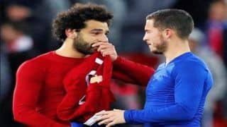 Chelsea Star Eden Hazard Admits he is a Fan of Liverpool's Mohamed Salah