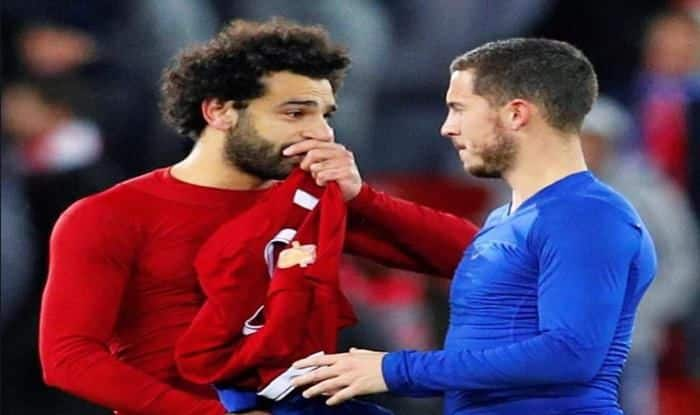 Mo Salah and Eden Hazard_picture credits twitter