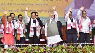 NDA is Considering Granting ST Status to 6 Communities: Modi in Assam