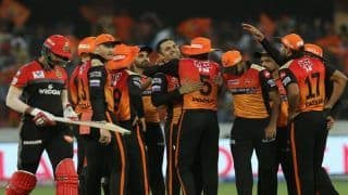 Highlights, IPL 2019 Match 11: Warner, Bairstow, Nabi Star as Sunrisers Hyderabad Thump Royal Challengers Bangalore by 118 Runs