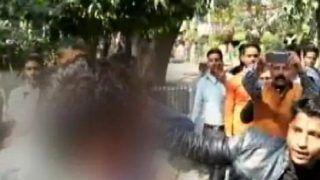 Muzaffarnagar: BJP Workers Thrash Youth For Criticising Government Over Job Cuts, Call Him 'Terrorist' - Watch Video