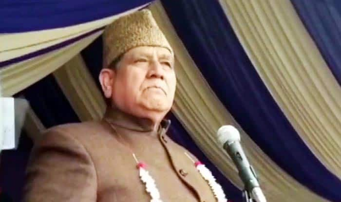 NC Leader Akbar Lone Raises 'Pakistan Zindabaad' Slogan at Public Rally, Says Will Abuse Those Who Hurl Abuses at The Country