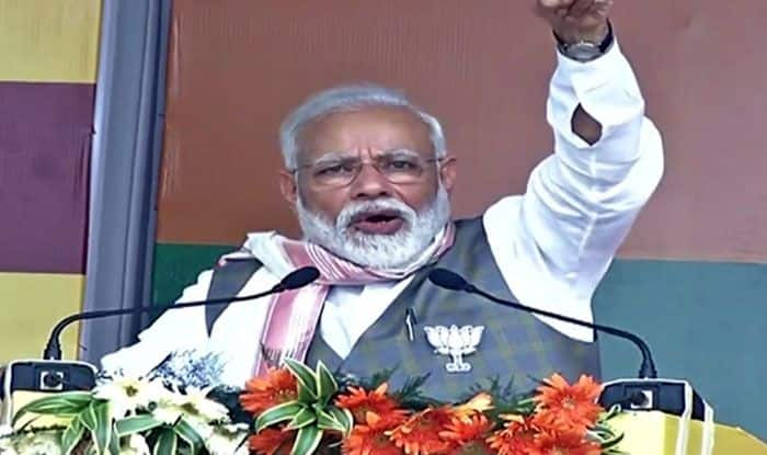 PM Narendra Modi in Assam