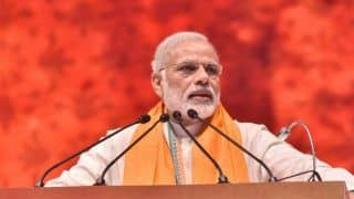Modi Lists NDA's Achievements, Tells Telangana People to Vote For New Bharat