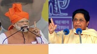 Mayawati Lashes Out at Narendra Modi For 'Gross Misuse of Power And Machinery' When Addressing Nation on Mission Shakti