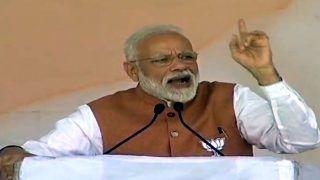 PM Narendra Modi Dubs SP-RLD-BSP Alliance in Uttar Pradesh as 'Saraab'