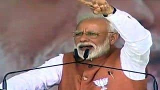 Narendra Modi Says Government Showed Courage by Conducting Surgical Strike on Land, Sky And Space