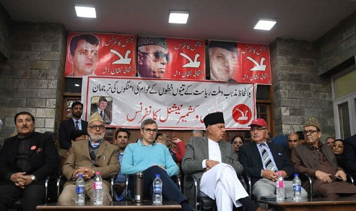 National Conference leader Farooq Abdullah