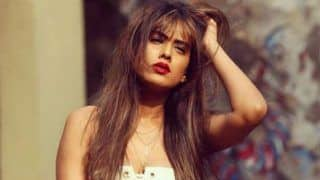 Television Hottie Nia Sharma Looks Her Sexiest Best in White Crop Top And Bold Red Lips in Her Latest Instagram Picture